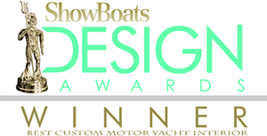 ShowBoats Design Awards Winner Best Custom Yacht Interior Design